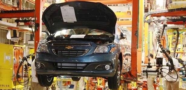 Fabricante monta três compactos em Gravataí: Onix, Prisma e Celta - Divulgação