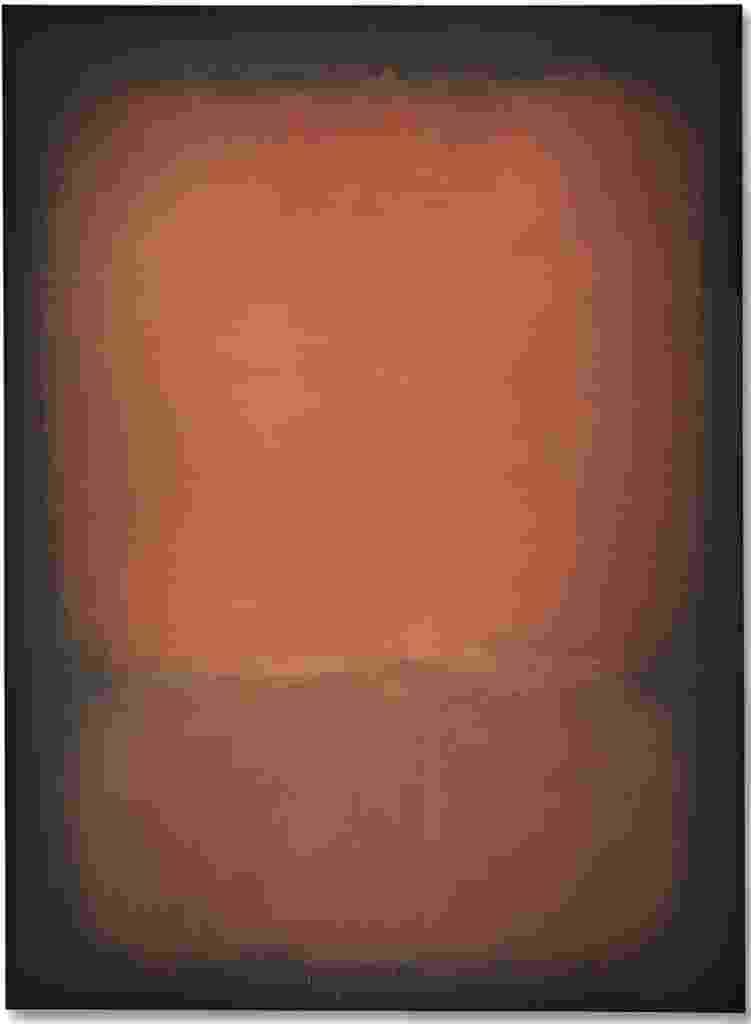 """13.mai.2015 - A obra """"No. 10"""", de Mark Rothko, foi vendida por US$ 81,9 milhões em leilão realizado pela Christie's - Reprodução/Christie's"""
