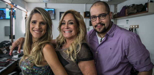 """Marlene ( Ingrid Guimarães ), Susana Vieira e Fran (Tiago Abravanel) em """"Chapa Quente"""""""
