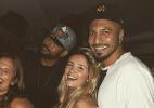 Ex-BBBs Aline e Fernando se divertem na noite carioca - Reprodução/Instagram/alinegoficial