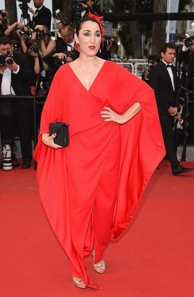 15.mai.2015 - Eterna musa do diretor Pedro Almodóvar, a espanhola Rossy de Palma, 50, participou da estreia de