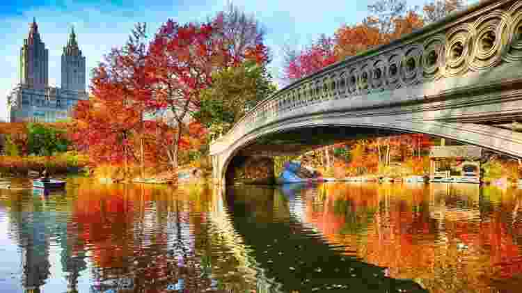 Central Park, em Nova York - Getty Images - Getty Images