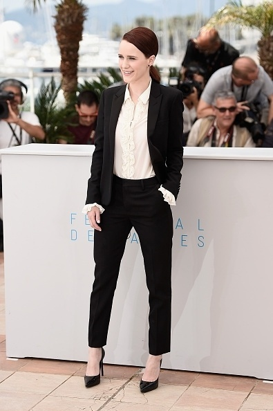 18.mai.2015 - A atriz norte-americana Rachel Brosnahan, 25 anos, participa da sessão de fotos para divulgação do filme