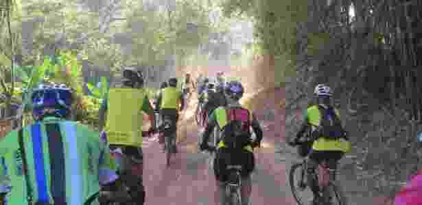 roteiros com bike; caminho da luz - Abraluz - Abraluz