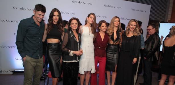 """Elenco de """"Verdades Secretas"""" tem nomes como Grazi Massafera e Alessandra Ambrósio"""