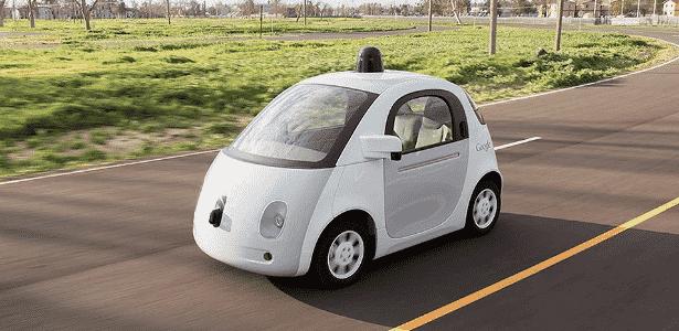 Carro autônomo do Google está em fase de testes na Califórnia, nos Estados Unidos - Reuters/Google/Divulgação