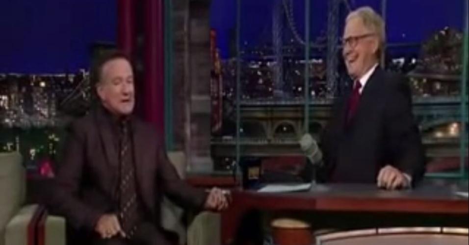 Em dezembro de 2009, Robin Williams causou polêmica ao brincar no programa de David Letterman que o Rio foi escolhido sede das Olimpíadas de 2016 por ter enviado strippers e cocaína para Copenhague, enquanto os Estados Unidos mandaram Oprah Winfrey e Michelle Obama. O ator morreu em agosto de 2014, aos 63 anos O corpo dele foi encontrado em sua casa, em Tiburon, na Califórnia, sem sinais vitais