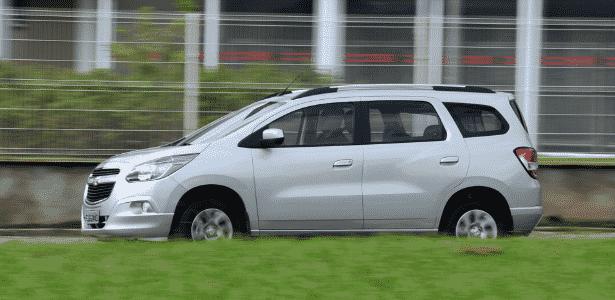 Chevrolet Spin LTZ A/T - Murilo Góes/UOL - Murilo Góes/UOL
