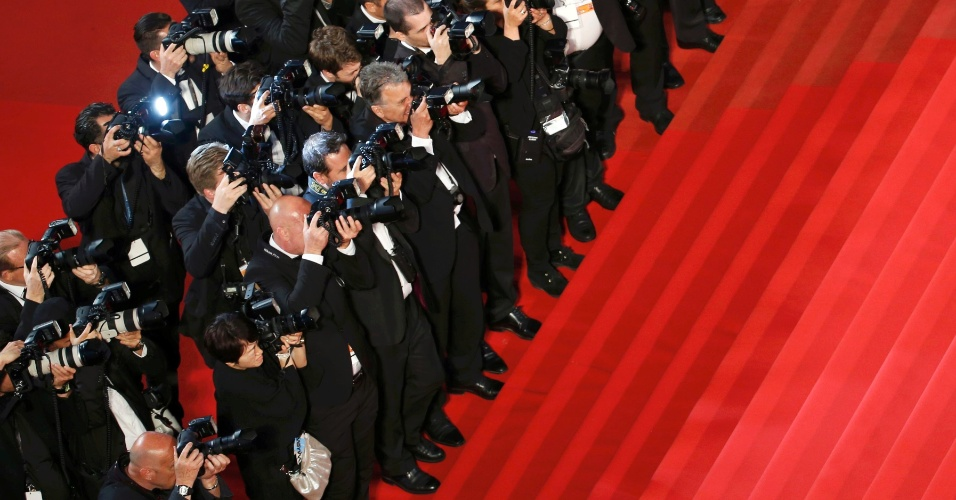 Fotógrafos no 68° Festival de Cannes
