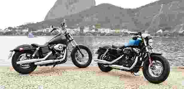 Harley-Davidson Street Bob e Forty Eight - Sylvio Junior/Infomoto - Sylvio Junior/Infomoto