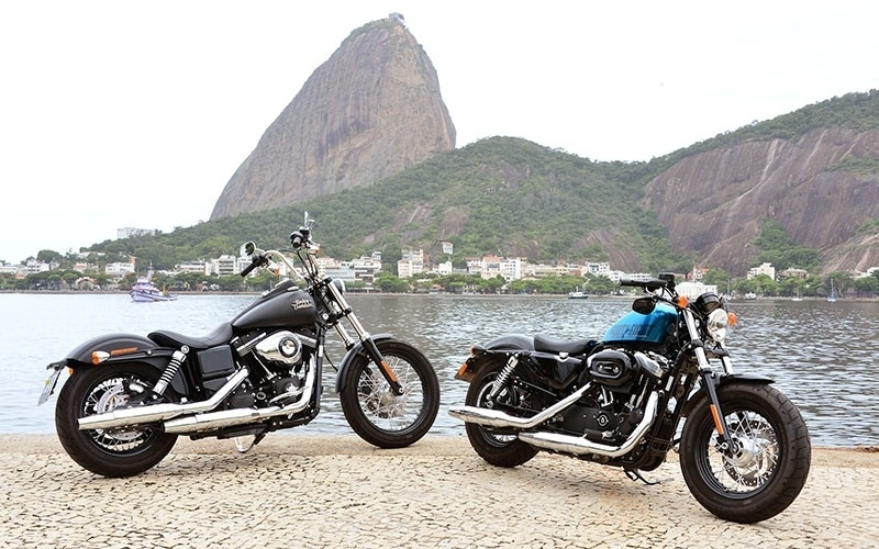 Harley-Davidson Street Bob e Forty Eight
