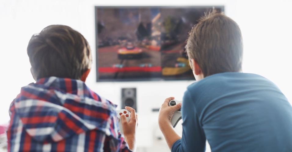 Crianças games benefícios