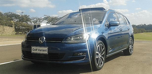 Ficou tudo alinhado: cara (e tecnologia) de Golf 7, corpão de carro de família - Leonardo Felix/UOL - Leonardo Felix/UOL