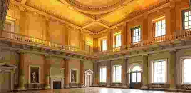 Localizado ao norte de Rotherham, no norte da Inglaterra, o imóvel tem duas vezes o tamanho do Palácio de Buckingham - Divulgação/Wentworth Woodhouse - Divulgação/Wentworth Woodhouse