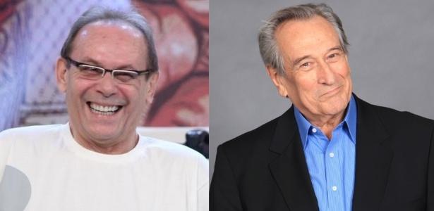 José Wilker e Paulo Goulart viraram nomes de avenidas no Rio de Janeiro