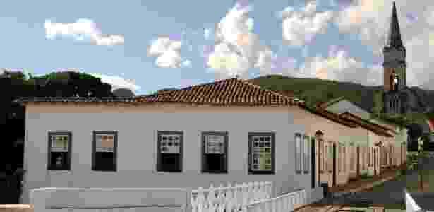Casa Velha da Ponte, antiga residência de Cora Coralina que foi transformada em museu, em Goiás Velho - Eduardo Vessoni/UOL