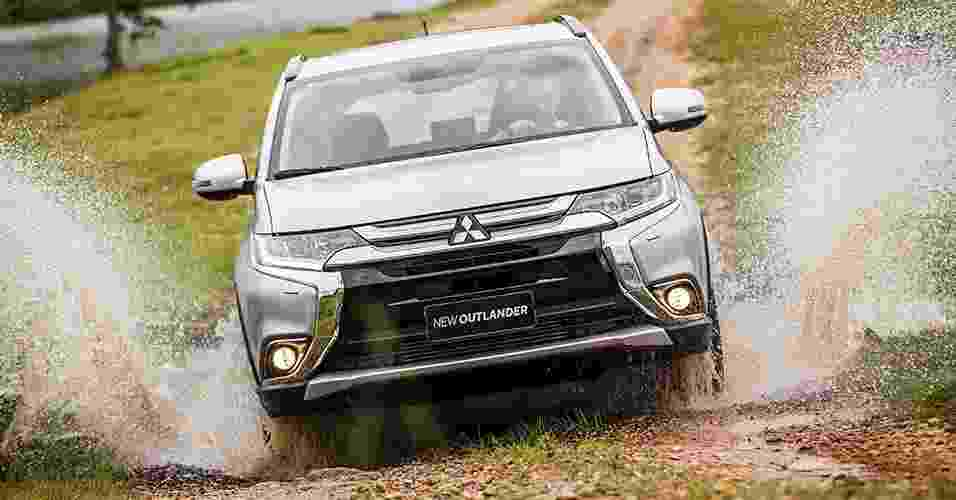Mitsubishi Outlander Diesel 2.2 2016 - Divulgação