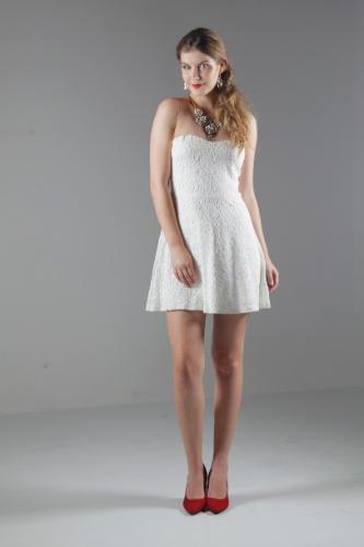 Noiva acessível  é possível casar com vestido de R  59 b45ab93e14b11