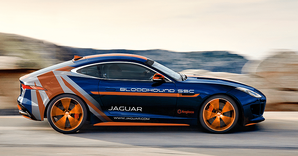 Jaguar F-TYPE Bloodhound