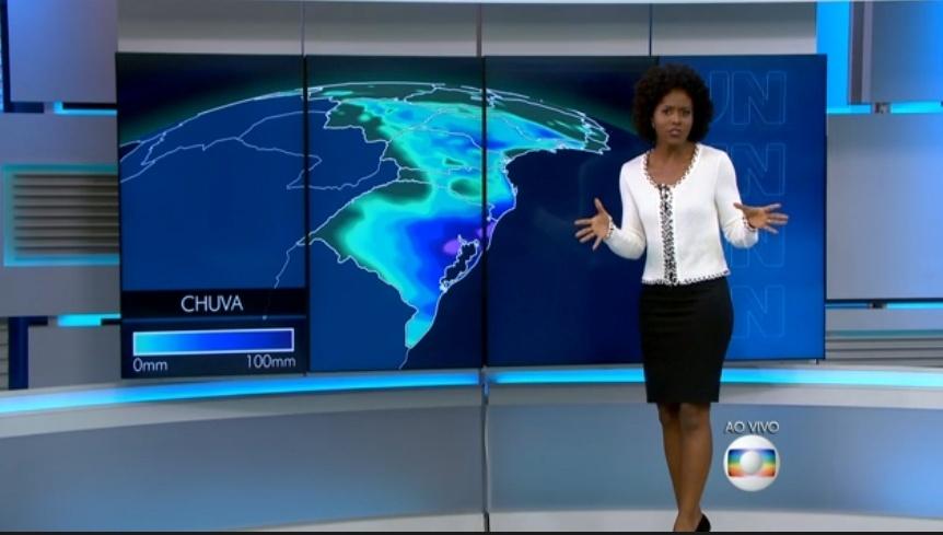 """Maria Júlia Coutinho diz que a """"a previsão é imprevisível"""" de chuvas para o sudeste do país"""
