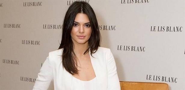 Kendall Jenner esteve no Brasil para divulgar a nova coleção da Le Lis Blanc - Raphael Castello/AgNews