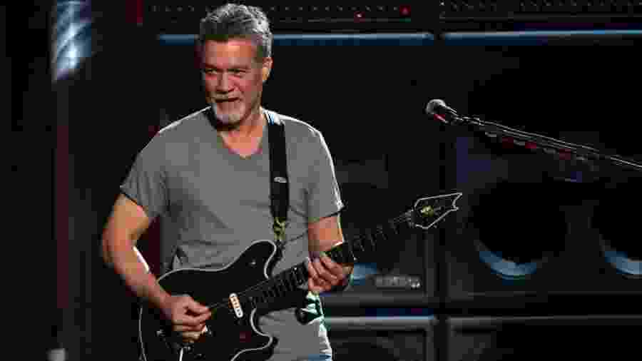 O guitarrista Eddie Van Halen - Ethan Miller/Getty Images/AFP