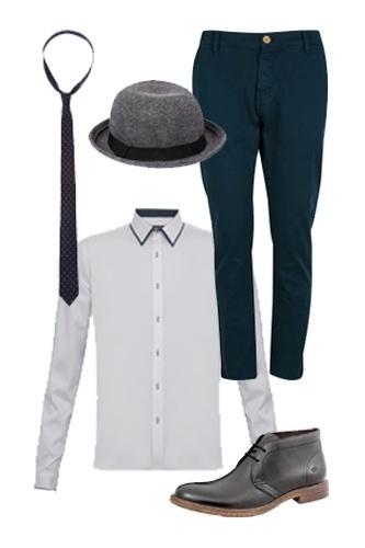 Para deixar o visual mais estiloso, vale acrescentar um chapéu à produção.  Camisa, a1e60759a3