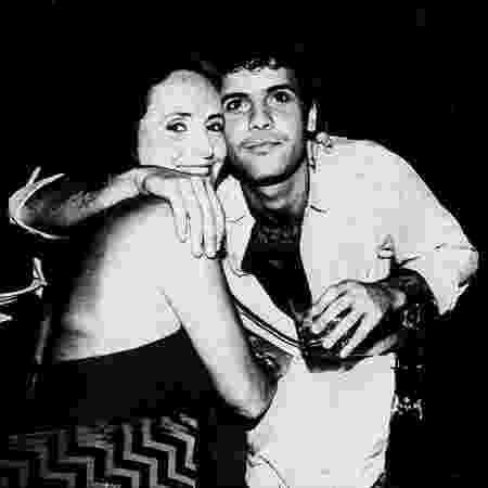 Cazuza e sua mãe, Lucinha Araujo - Divulgação