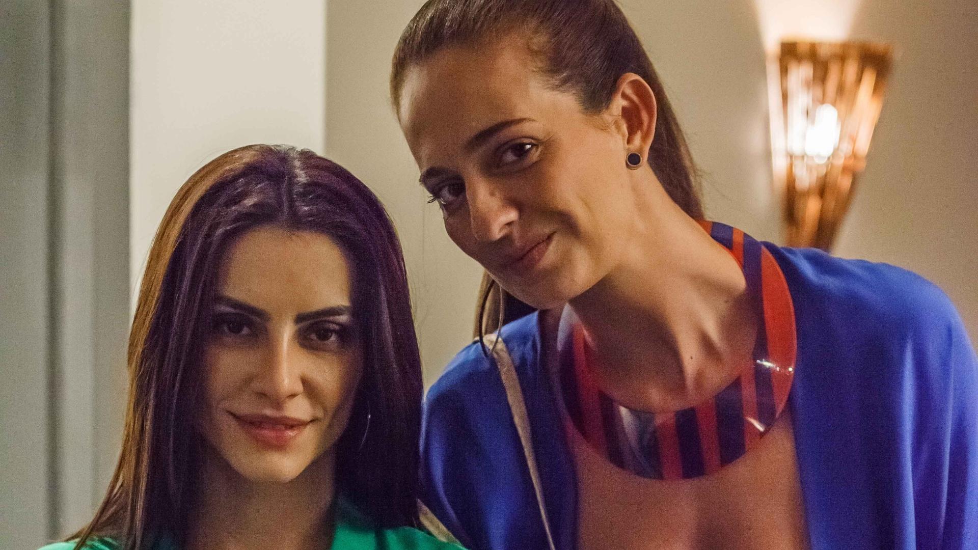 . A atriz Leticia Novaes interpreta Paula, melhor amiga de Tati em