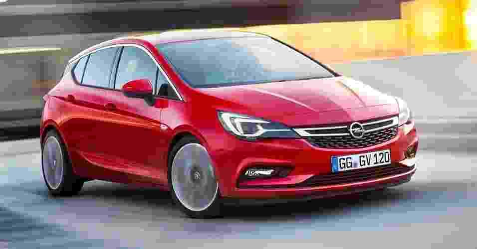 Opel Astra 2016 - Divulgação