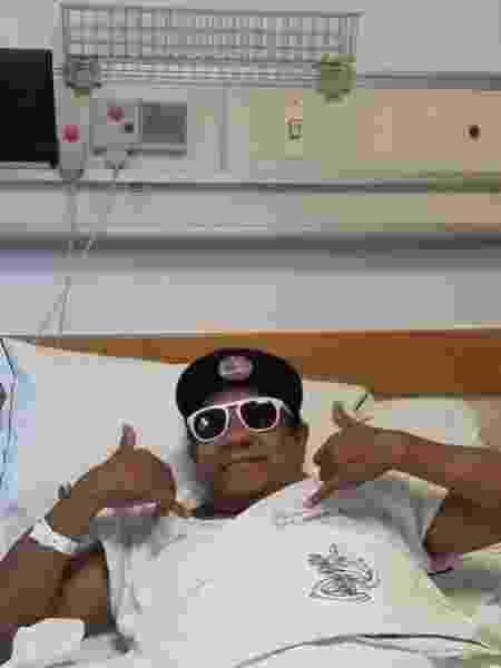 Liminha está internado em hospital - Reprodução/Instagram