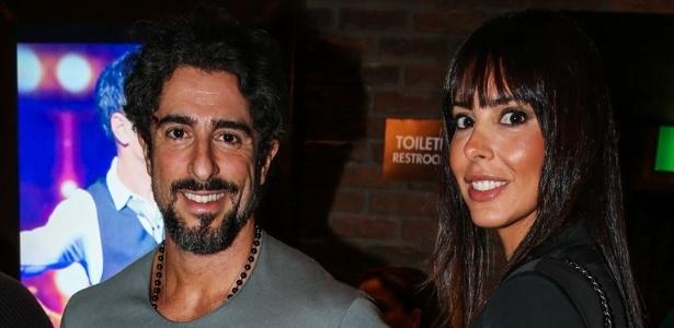 Marcos Mion ao lado da mulher, a modelo Suzana Gullo  - Manuela Scarpa/Photo Rio News