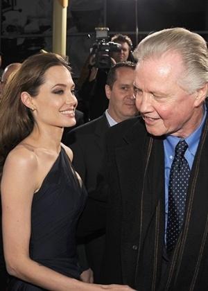 Jon Voight  está preocupado com o estado emocional da filha Angelina - Getty Images