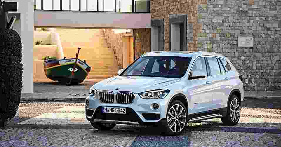 BMW X1 2016 - Divulgação