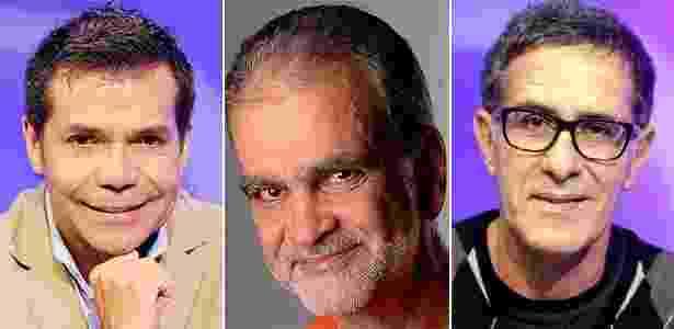 Da esquerda para a direita: Marcio Moraes, Mauricio Kubrusly e Artur Veríssimo, três repórteres que tiveram suas viagens marcadas pelo Guia 4 Rodas - Divulgação/UOL
