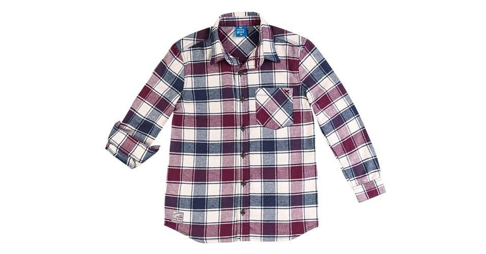 bce06f72488 Camisa xadrez masculina