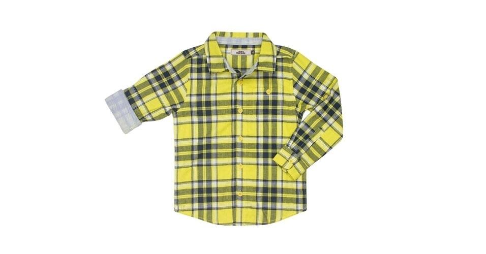 11a67ebae3c Camisa xadrez