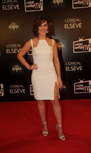 """8.jun.2015 - A atriz Adriana Birolli concorre ao prêmio de melhor atriz coadjuvante por seu papel na novela """"Império"""", em que vivia a personagem Amanda"""