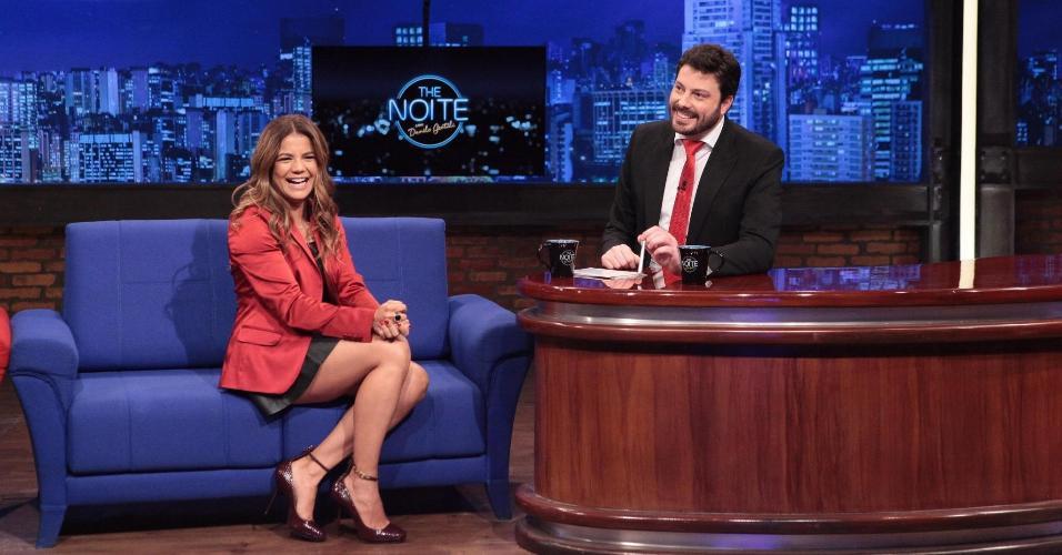 09.jun.2015 - Em entrevista a Danilo Gentili, no programa
