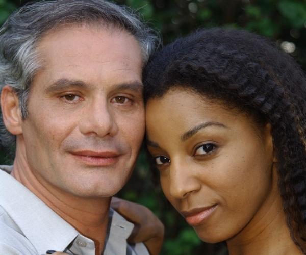 """Constantino (Nuno Melo) e Rita (Adriana Lessa) formaram um casal em """"Senhora do Destino"""""""