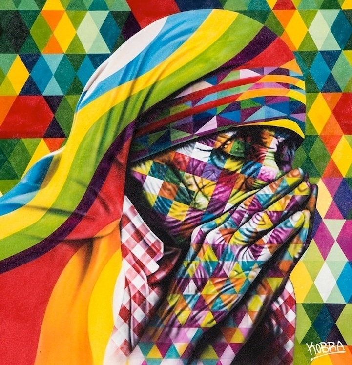 Artesanato Verefazer ~ Conheça grafites do brasileiro Eduardo Kobra espalhados