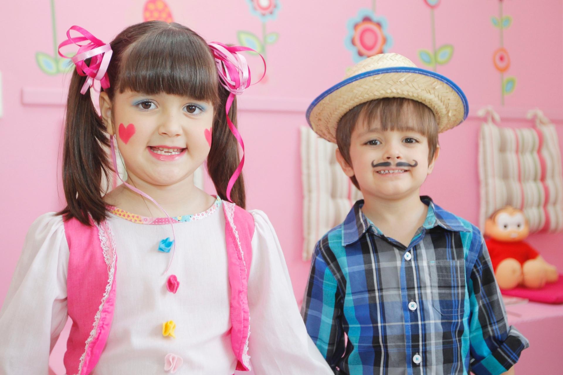 b6e124f2d Caipira descolado  aprenda maquiar meninas e meninos para as festas juninas