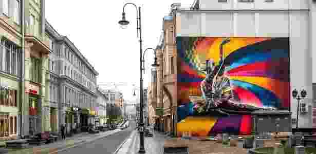 Kobra - Moscou - Arquivo pessoal - Arquivo pessoal
