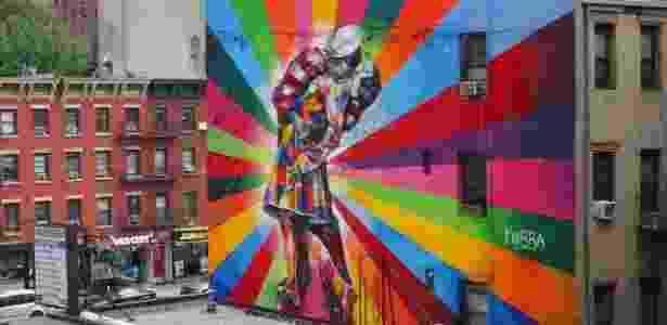 Kobra - NYC - Arquivo Pessoal - Arquivo Pessoal