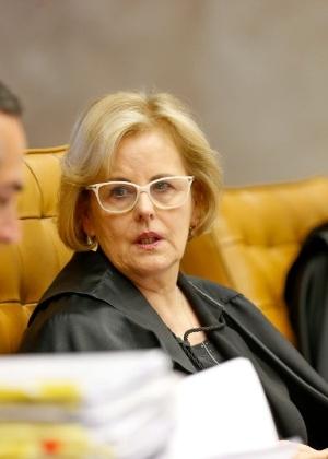 A ministra Rosa Weber durante sessão plenária do STF - Pedro Ladeira/Folhapress