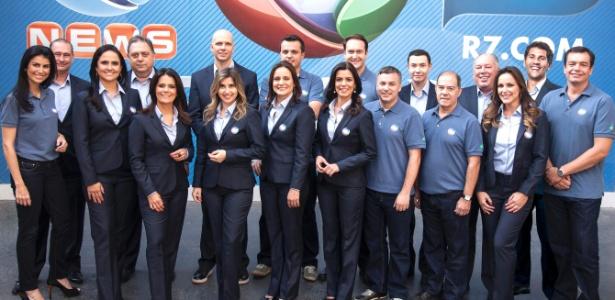 Equipe da Record para a cobertura do Pan-Americano