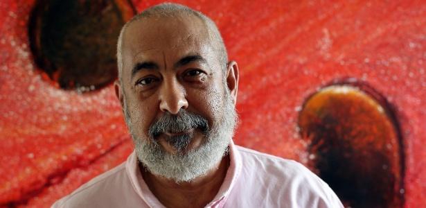 """O cubano Leonardo Padura, autor de """"O Homem que Amava os Cachorros"""" e """"Hereges"""" - Alejandro Ernesto/EFE"""