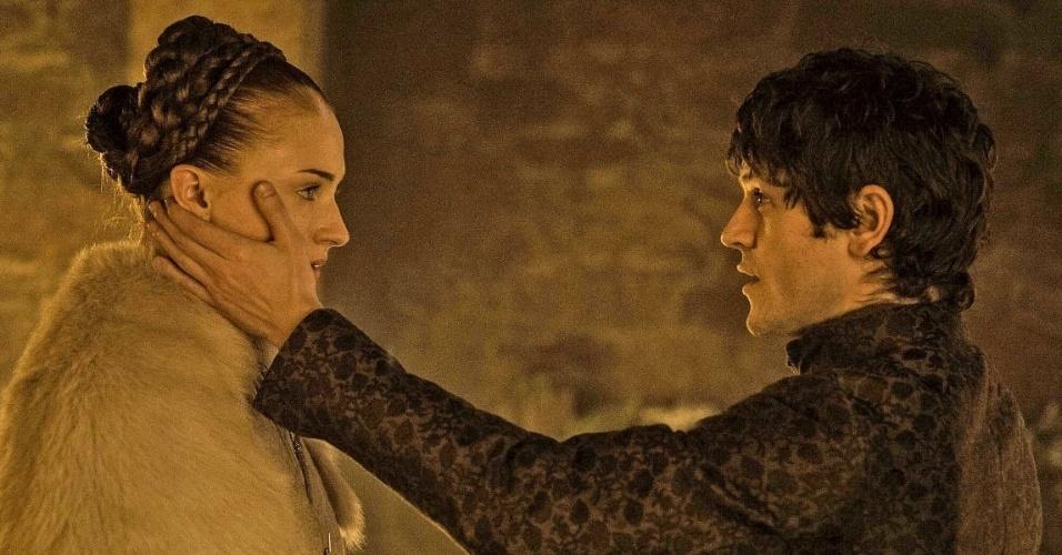 """Sansa e Ramsay em """"Game of Thrones"""""""