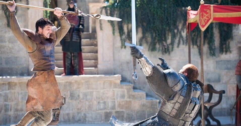 """Oberyn Martell (Pedro Pascal) é morto em combate em """"Game of Thrones"""""""