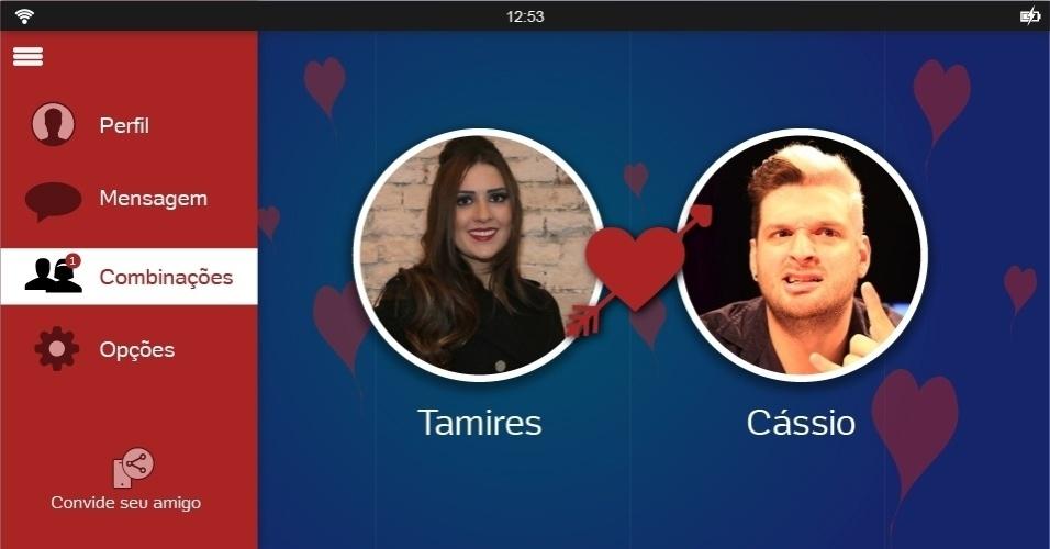 Os ex-BBBs Tamires e Cássio provavelmente dariam 'match' em um aplicativo de relacionamento. Isso porque a dentista disse durante a sua participação no